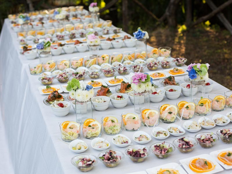 luxury catering - Festeggiando Catering Eventi